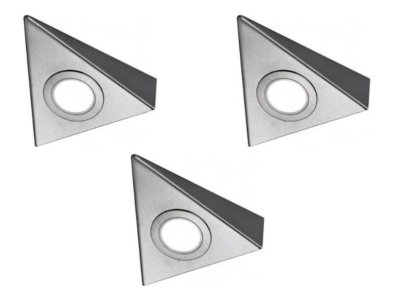 Bermuda HD LED Triangle Light, cool white - Down Lights