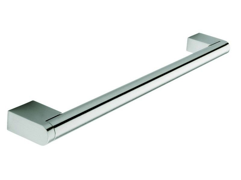 Boss bar handle, 14mm diameter, 510mm long, steel, stainless steel effect - Boss Bar Handles