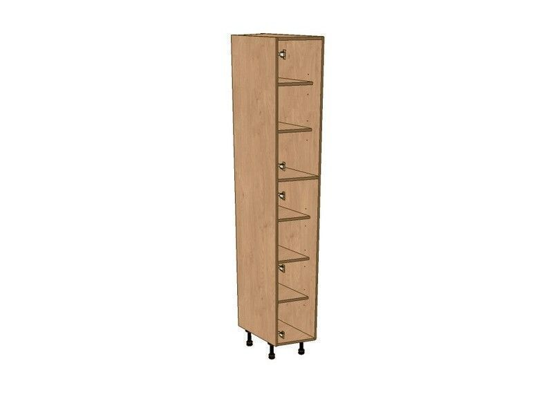 Fitzroy Paint To Order 275mm Angled Larder Unit LH 2150mm High 296 Doors