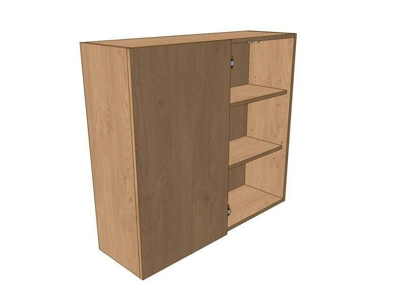 Milbourne Chalk 900mm Corner Wall Unit 450mm LH Blank 900mm High