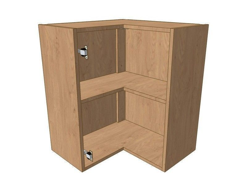 Noto 620mm*620mm L Shaped Corner Wall Unit 720mm High