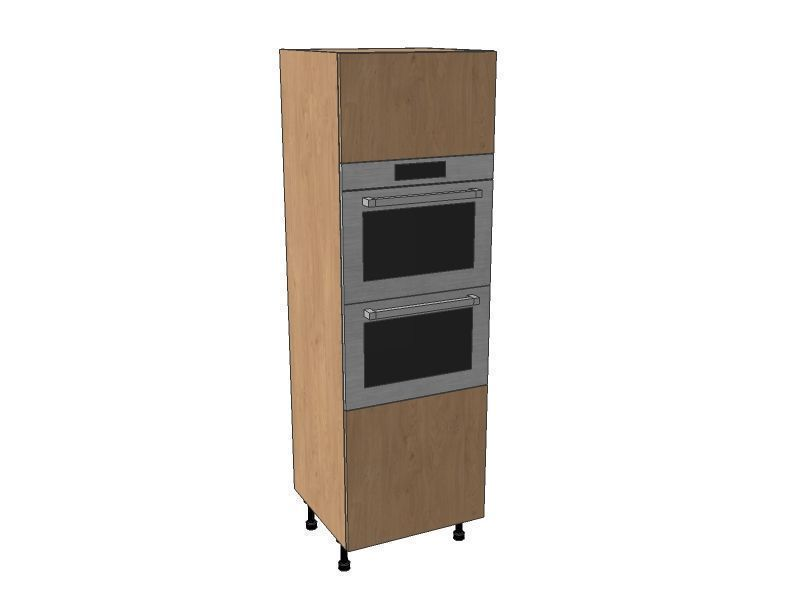 Fitzroy Paint To Order 600mm Double Oven Housing Unit 1825mm High
