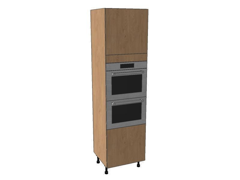 Fitzroy Paint To Order 600mm Double Oven Housing Unit 2150mm High