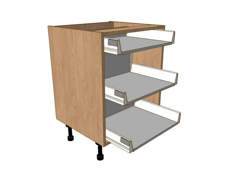 Fitzroy Paint To Order 1000mm Drawer Pack 1 Shallow 2 Pan