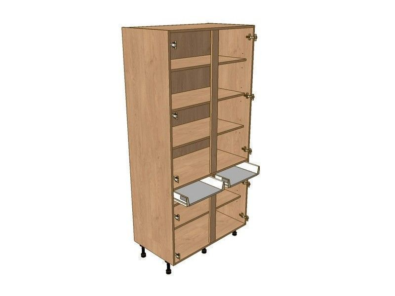 Fitzroy Paint To Order 1000mm Larder Unit 1970mm High - Drawerline