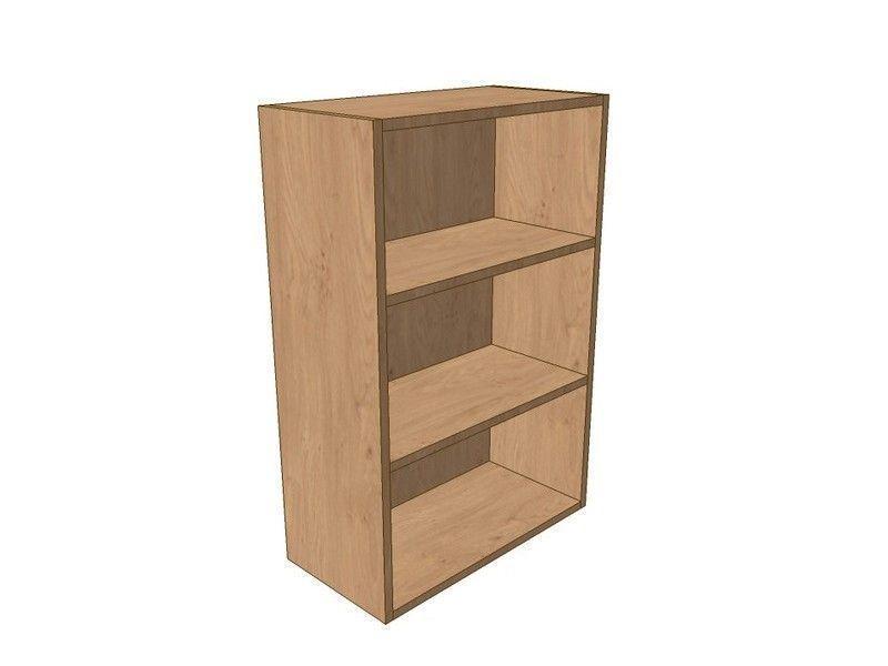 Noto True Handleless 150mm Open Wall Shelf Unit 900mm High