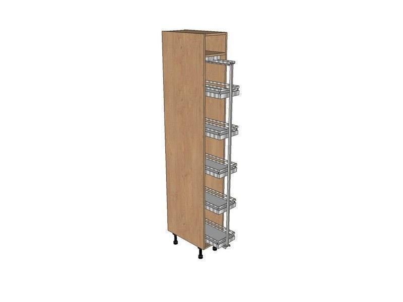 Fitzroy Paint To Order 400mm Pull Out Larder Unit With Classic Pull Out 2150mm High