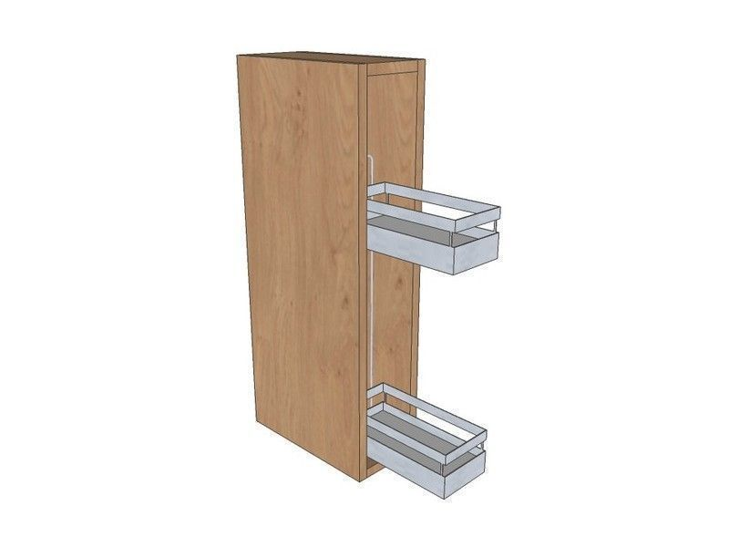 Noto 150mm Pull Out Wall Unit 720mm High With Pull Out