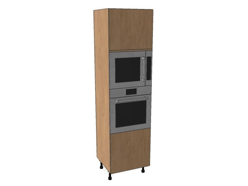 Fitzroy Paint To Order 600mm Single Oven & Microwave Housing Unit 2150mm High