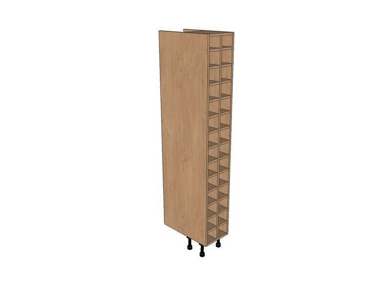 Fitzroy Paint To Order 300mm Tall Wine Rack Pigeon Hole 1825mm High