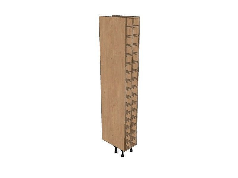 Fitzroy Paint To Order 300mm Tall Wine Rack Pigeon Hole 2150mm High