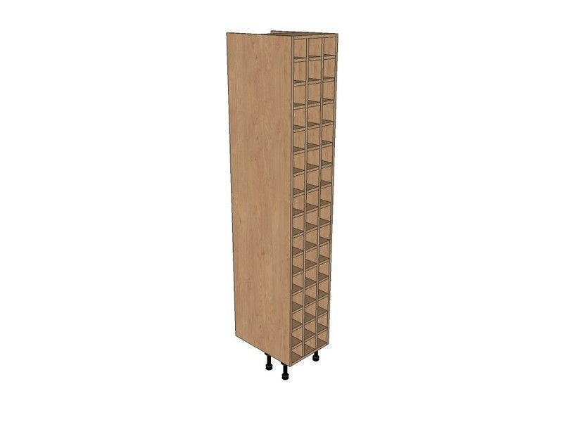 Fitzroy Paint To Order 400mm Tall Wine Rack Pigeon Hole 2150mm High
