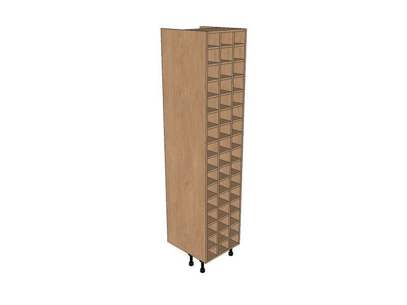 Fitzroy Paint To Order 500mm Tall Wine Rack Pigeon Hole 2150mm High