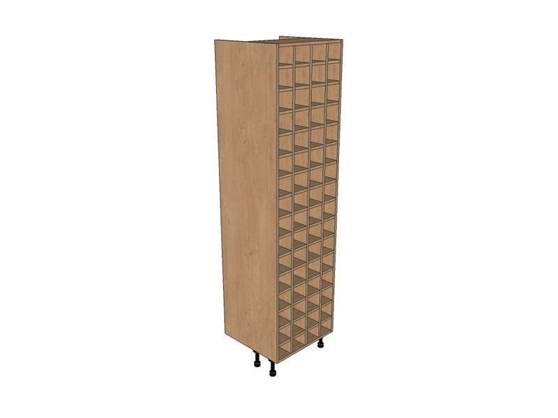 Fitzroy Paint To Order 600mm Tall Wine Rack Pigeon Hole 2150mm High