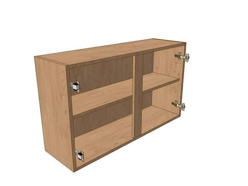 Noto True Handleless 900mm Wall Unit 575mm High