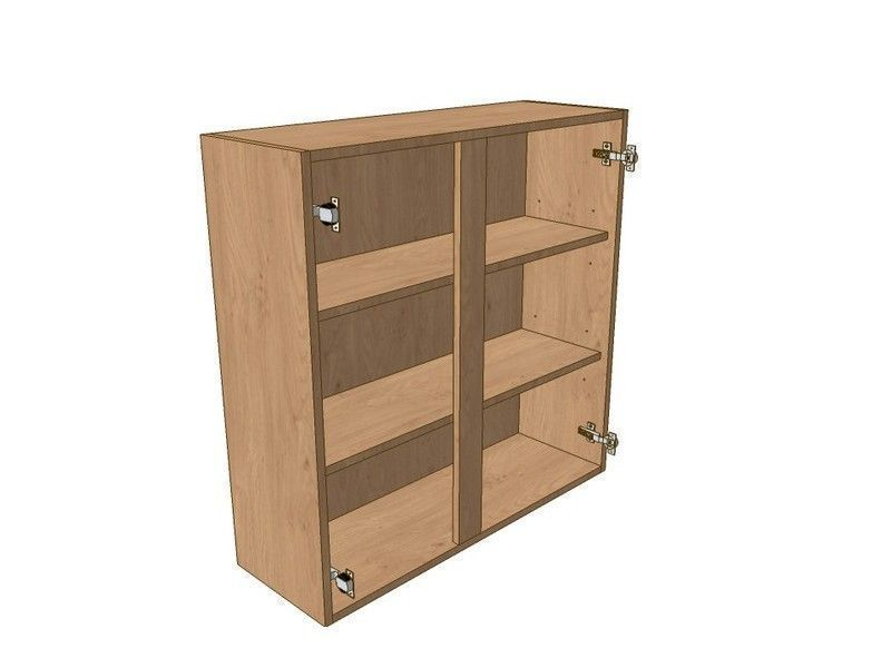 Fitzroy Paint To Order 1100mm Wall Unit 900mm High 500mm LH & 600mm RH