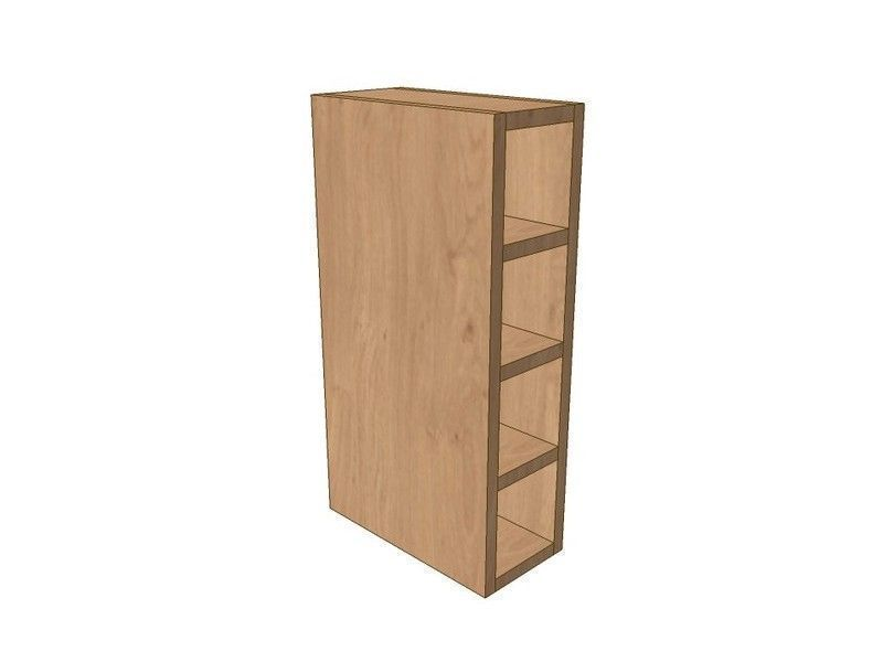 Noto True Handleless 150mm Wall Wine Rack Pigeon Hole Unit 575mm High