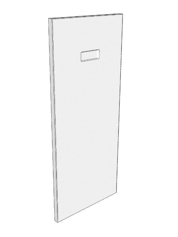 Fitzroy Paint To Order Corbel back panel 700x300x18mm