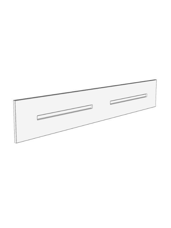 Fitzroy Paint To Order Mantel top panel, 1500x250x18mm