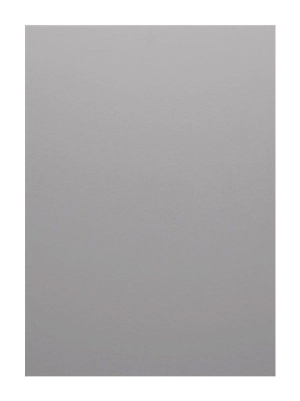 1245x297mm with chamfered handle Remo Gloss Silver Grey Door